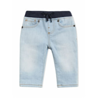 Burberry Kids Relaxed Fit Pull-on Denim Jeans - Blue