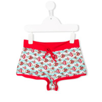 Mc2 Saint Barth fish print swim shorts - Red