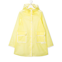 Bonpoint TEEN hooded raincoat - Yellow