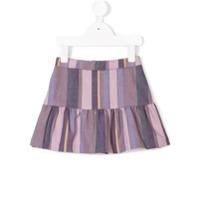 Knot Art stripes skirt - Pink