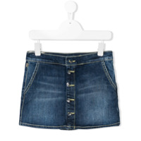Dondup Kids stonewashed denim skirt - Blue