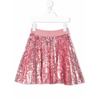 Monnalisa sequin embellished skirt - Pink