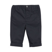 Burberry Kids Cotton Twill Chinos - Blue