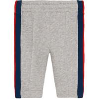 Gucci Kids Baby cotton jogging pants - Grey