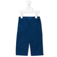 Burberry Kids Cotton Chinos - Blue