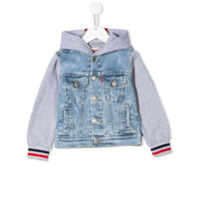Levi's Kids denim bomber jacket - Blue
