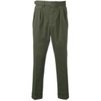 Lardini Verde pleated trousers - Green