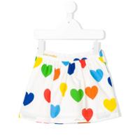 Mini Rodini Raibow Love skirt - White