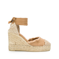 Castaer Catalina wedge sandals - Neutrals