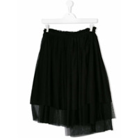 Msgm Kids TEEN pleated skirt - Black