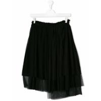 Msgm Kids TEEN pleated skirt - Black