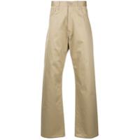 Junya Watanabe MAN reflective details work trousers - Neutrals