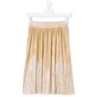 Andorine pleated skirt - Metallic