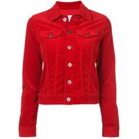 Ag Jeans button-up denim jacket - Red