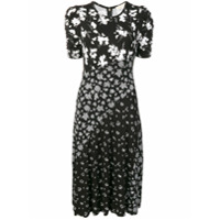 Michael Kors Collection floral shift dress - Black