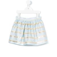 Hucklebones London Sweetie stripe gathered skirt - Blue