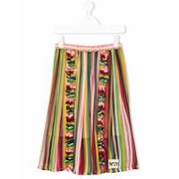 Nº21 Kids striped skirt - Multicolour