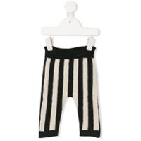Emile Et Ida striped knit trousers - Grey