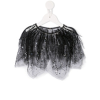 Tutu Du Monde Flickering Shadows cape - Black