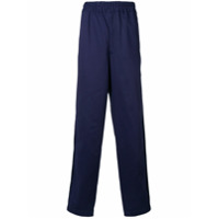 Comme Des Garons Shirt Boys elasticated loose trousers - Blue