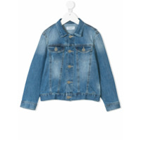 Paolo Pecora Kids classic denim jacket - Blue