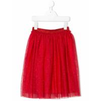 Il Gufo mesh skirt - Red