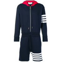 Thom Browne 4-Bar One-Piece Gnome Sweatsuit - Blue