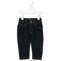 Boss Kids straight-leg jeans - Blue