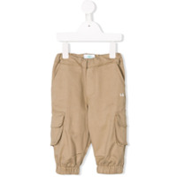 Eshvi Kids cargo trousers - Neutrals