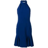 Stella McCartney halterneck flutter dress - Blue