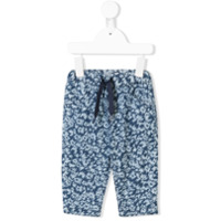 Kenzo Kids all-over print leggings - Blue