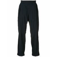 Issey Miyake Men elasticated trousers - Blue