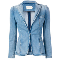 L'Autre Chose denim blazer - Blue