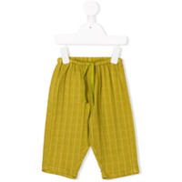 Caramel Cat baby trousers - Green