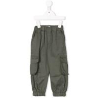 Eshvi Kids cargo trousers - Green