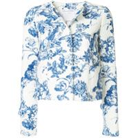 Oscar de la Renta printed jacket - White