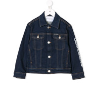 Calvin Klein Kids stitching detail denim jacket - Blue