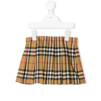 Burberry Kids signature patterned mini skirt - Neutrals
