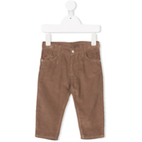 Knot five pockets corduroy trousers - Brown
