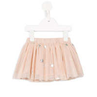 Stella Mccartney Kids star print tulle skirt with knickers - Pink