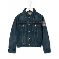 Ralph Lauren Kids faded denim jacket - Blue