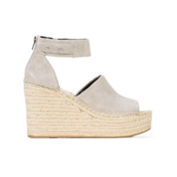 Dolce Vita open toe wedge espadrilles - Grey