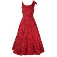 Bambah Violeta Midi gown - Red