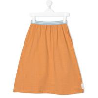 Tiny Cottons check print skirt - Yellow