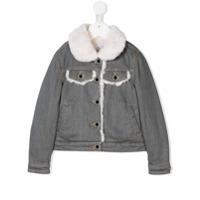 Little Marc Jacobs buttoned denim jacket - Grey