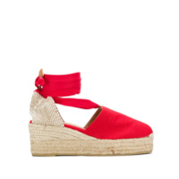Castaer Campesina wedge sandals - Red