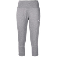 Adidas By Stella Mccartney logo embroidered track pants - Grey
