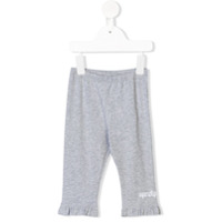 Fendi Kids #fendifun leggings - Grey