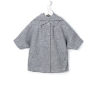 Stella Mccartney Kids 'Holmes' cape - Grey