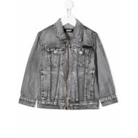 Molo zipped denim jacket - Grey